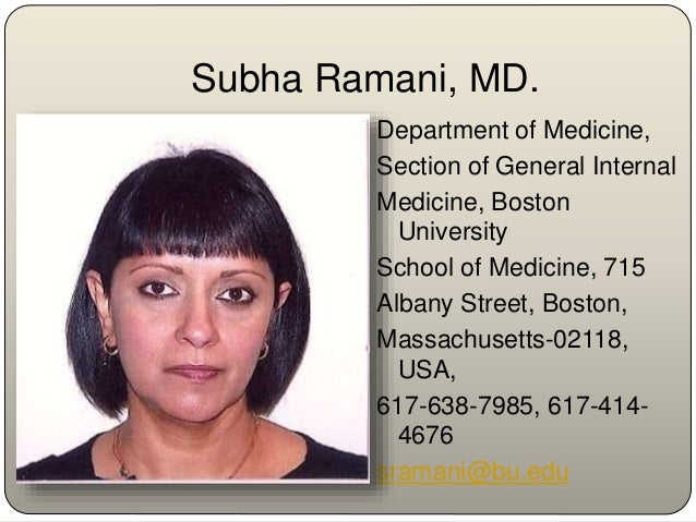 Subha Ramani, MD. is a general internist with a major interest in medical education. She is currently an Assistant Profess...