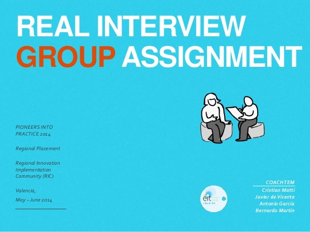 interview assignment Work assignments are effective trends in hiring process it does provide a clarity at both ends, whether you are an apt candidate to the organization or not.