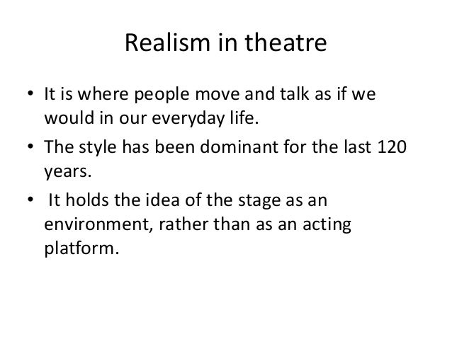 what is the difference between realism and naturalism