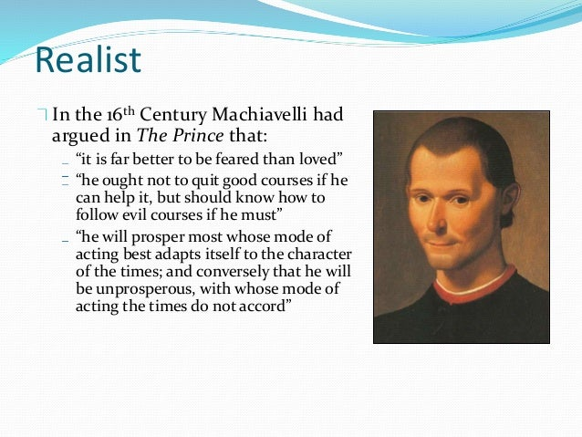 machiavelli the realistic philosopher essay This essay will focus on machiavelli's concepts a real world example of these doctrines in practice use ultius, inc sample essay on political philosophy.