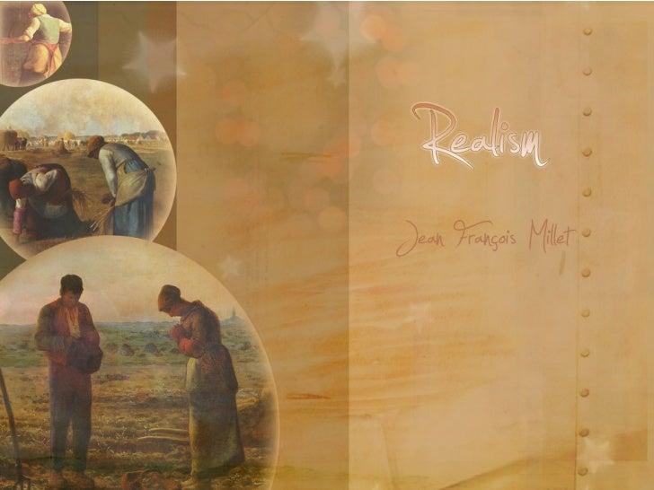 Realism kunstis Jean Francois Millet