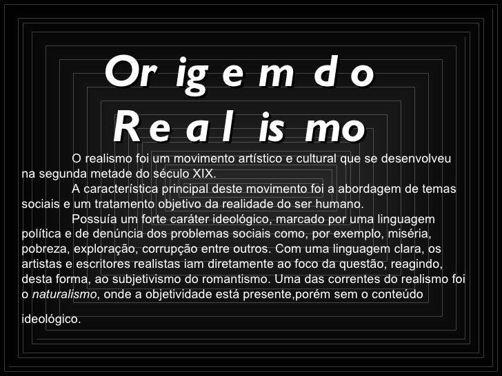 Realismo Slide 3