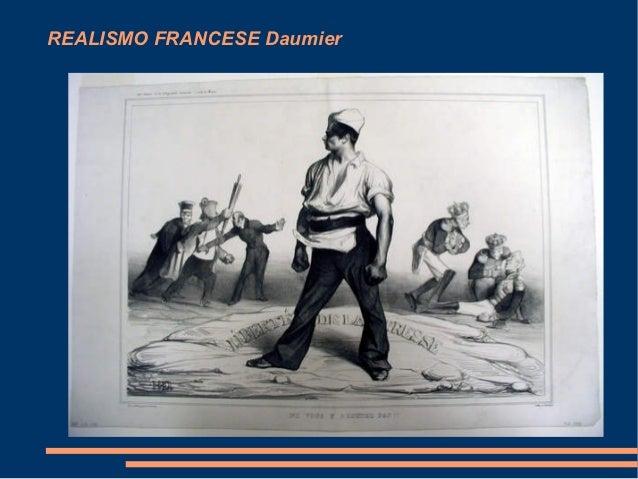 REALISMO FRANCESE Daumier