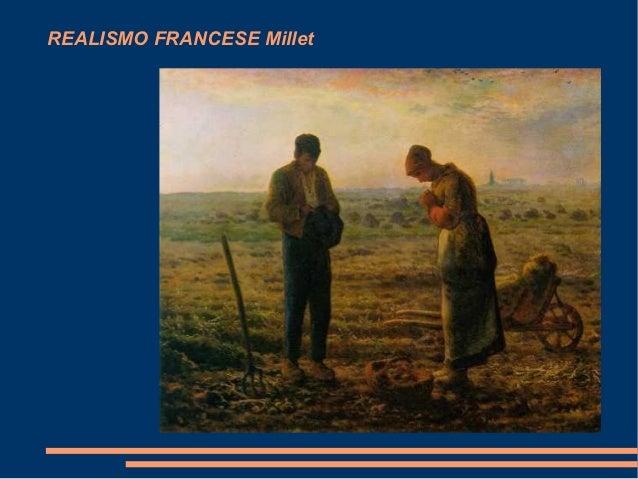 REALISMO FRANCESE Millet