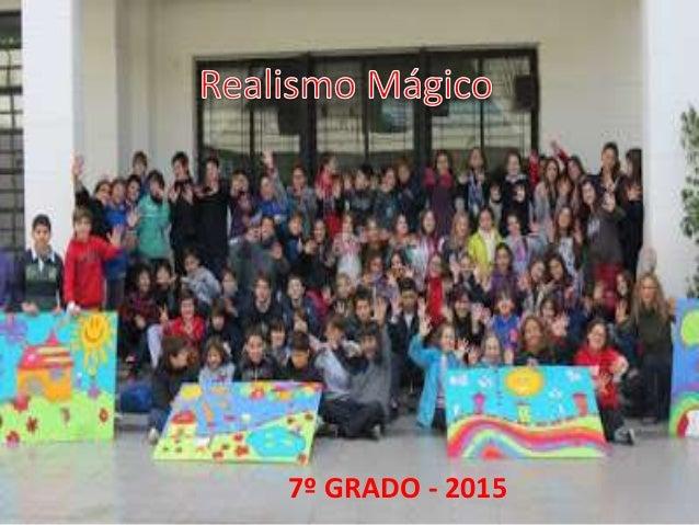 7º GRADO - 2015