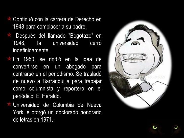 """ En 1948 y 1949 escribió para el diario El  Universal de Cartagena. Desde 1950 hasta 1952, escribió  """"Septimus"""", una col..."""
