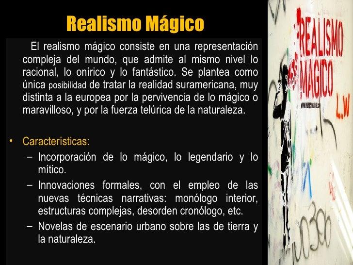 Realismo mágico  y García márquez Slide 2