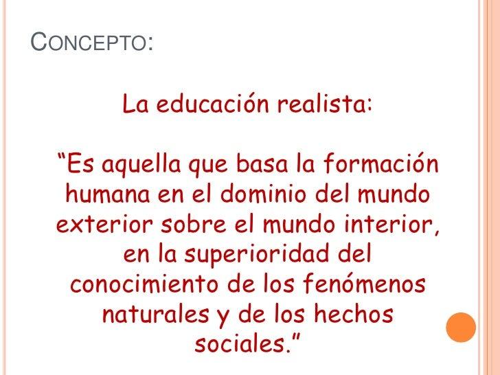 Realismo Pedagogico