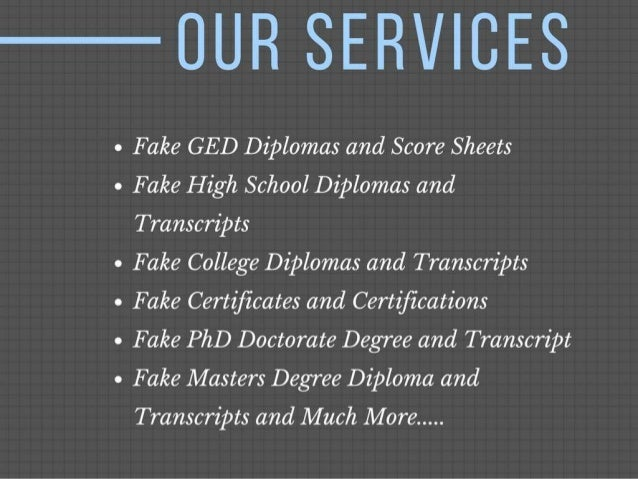 5 ourservices fake ged diplomas