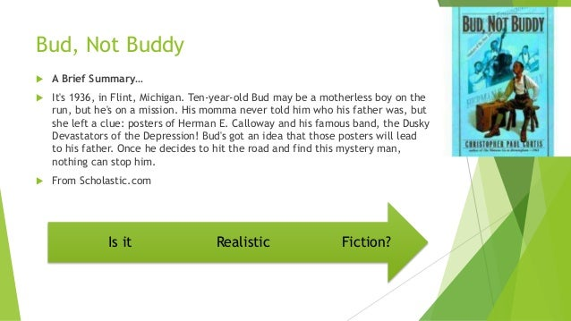 bud not buddy summary