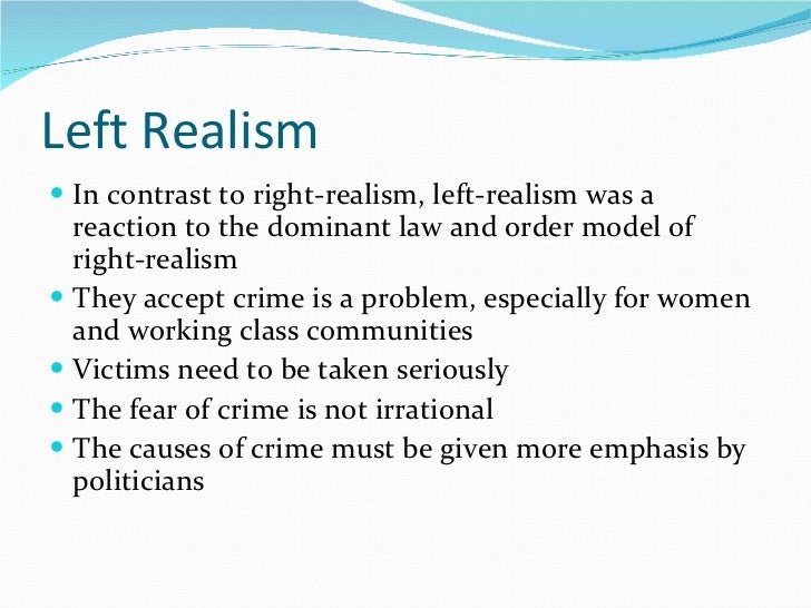 political realism essay