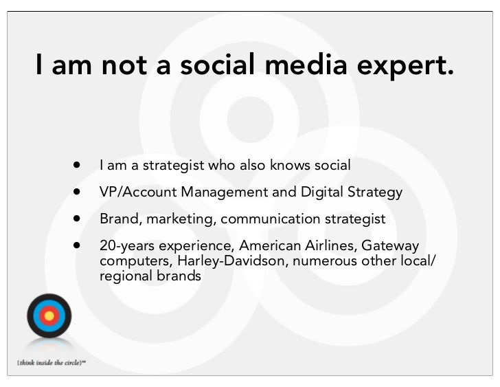 A Realist's Guide to Social Media Strategy Slide 2