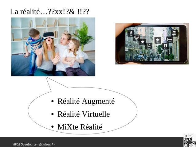 La réalité melangée dans vos applications Slide 2