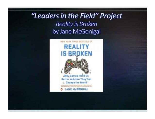 Psychologist,  Game  Designer,  TED  Talk  Speaker,     ISTE  2013  Keynote  Speaker