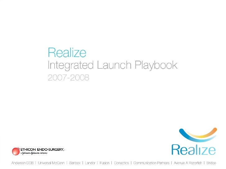 Realize Integrated Launch Playbook              Part 1              WHO ARE WE TALKING TO?              Part 2            ...