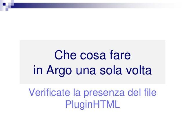 Realizzare manuali di istruzioni in HTML5, e-manual e digital documentation da Argo CCMS Slide 2