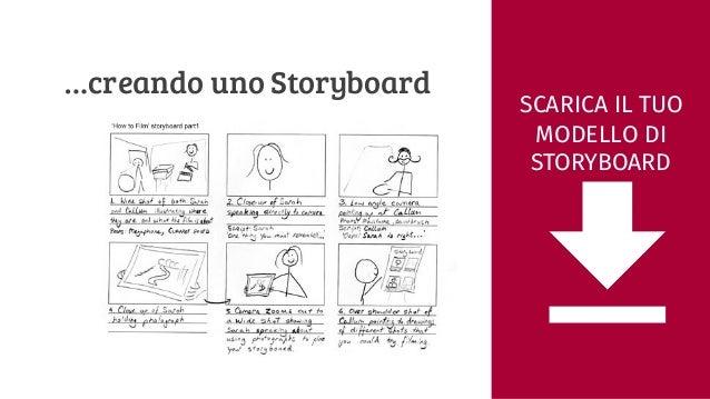 Modello storyboard scaricare