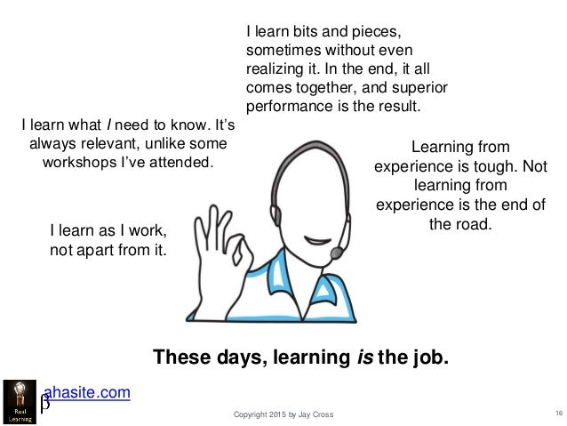 real learning through experience
