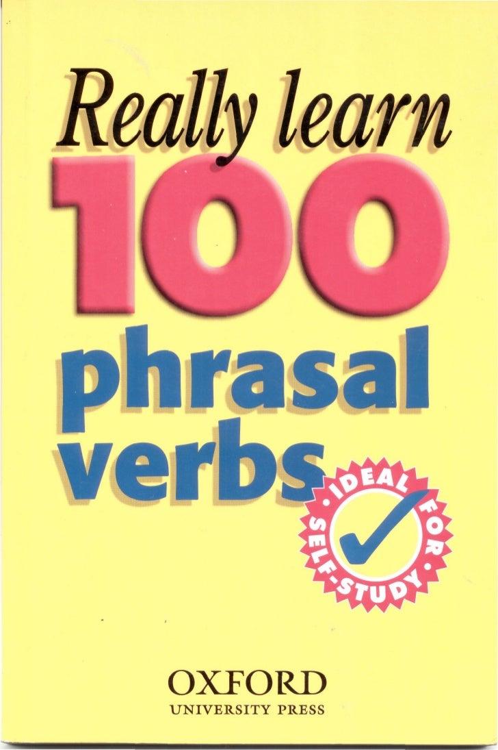 Really Learn 100 Phrasal Verbs Pdf