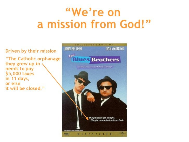 """"""" We're on  a mission from God!"""" Driven by their mission """" The Catholic orphanage  they grew up in  needs to pay  $5,000 t..."""