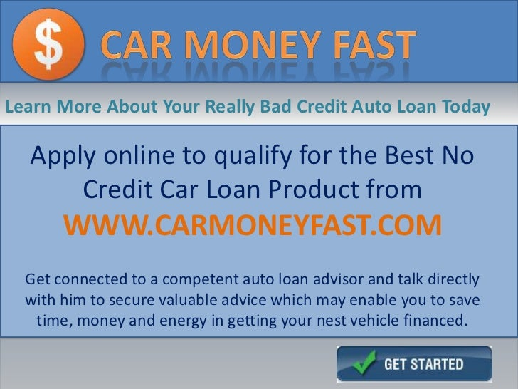 Getting Financed For A Car With No Credit