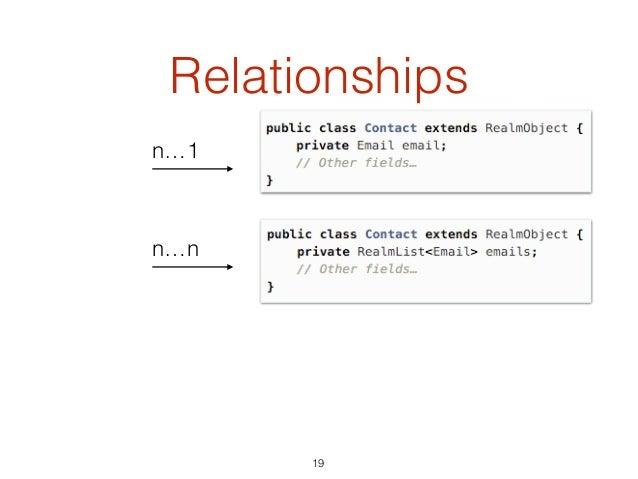Relationships 19 n…1 n…n