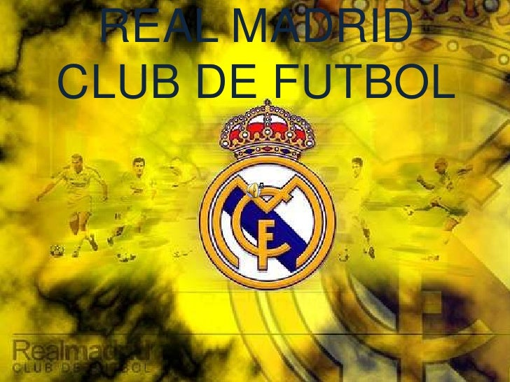REAL MADRID CLUB DE FUTBOL<br />