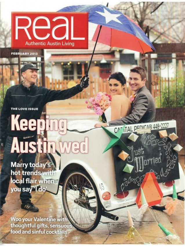 Keeping Austin Wed: Marrying today's hot trends with local flair when you say 'I do'