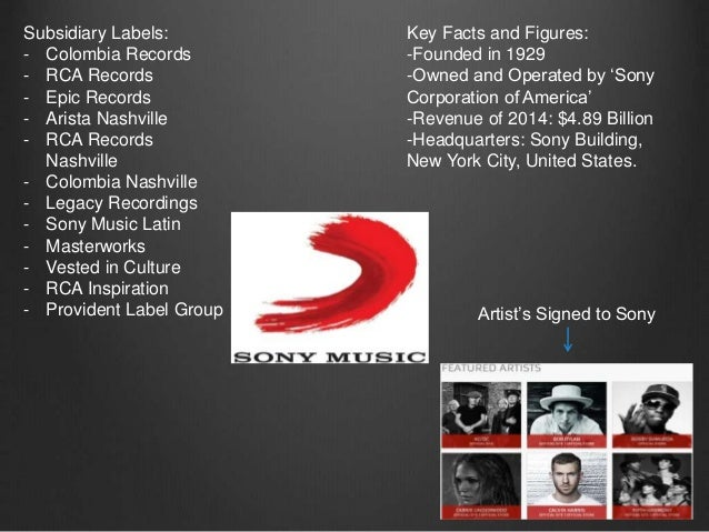 major record labels