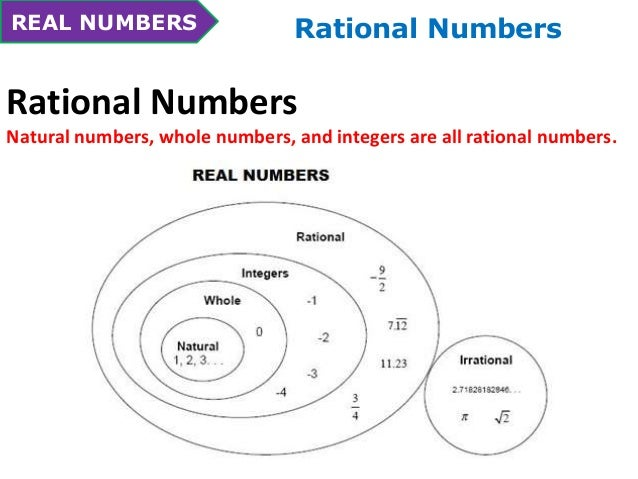 Rational And Irrational Numbers Chart Erkalnathandedecker