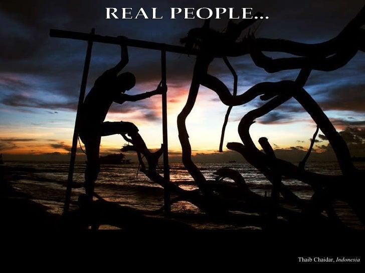 REAL PEOPLE... Thaib Chaidar,  Indonesia