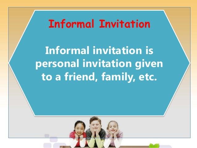 Real ppt invitation card informal invitation stopboris Gallery