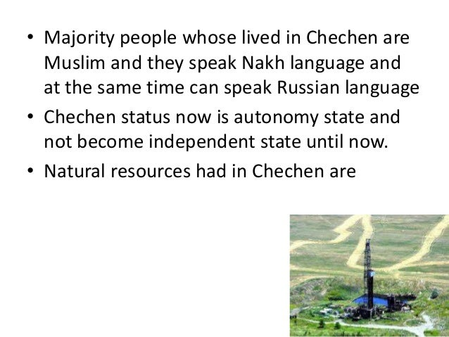 Chechnya Natural Resources