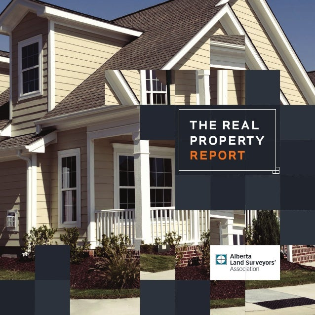 the real property report