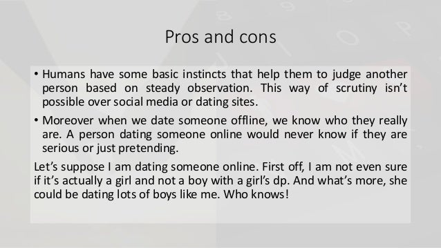Dating app pros and cons christian