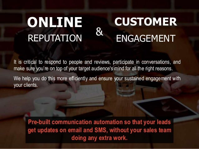 It is critical to respond to people and reviews, participate in conversations, and make sure you're on top of your target ...