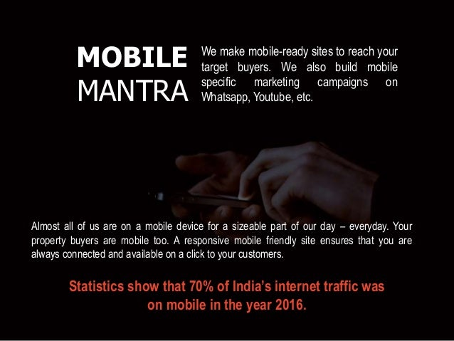 Almost all of us are on a mobile device for a sizeable part of our day – everyday. Your property buyers are mobile too. A ...