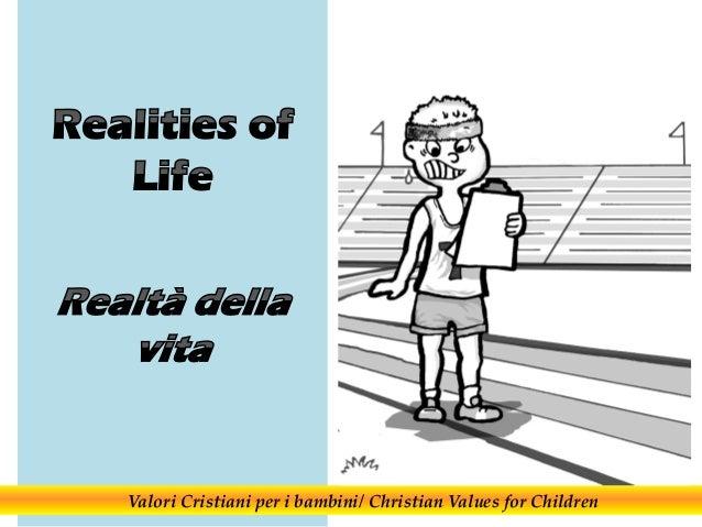Valori Cristiani per i bambini/ Christian Values for Children