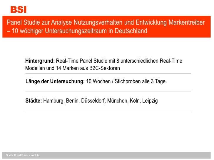 Real-Time Web: Markenstudie zu Einsatzmöglichkeiten von Twitter & Co. Slide 2