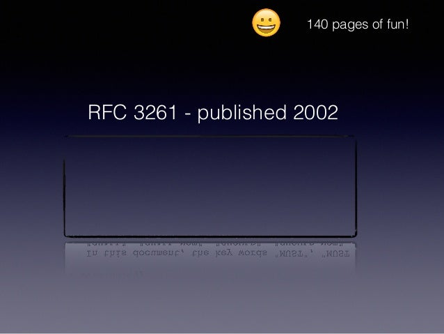 RFC 3261 - published 2002 140 pages of fun! 😀
