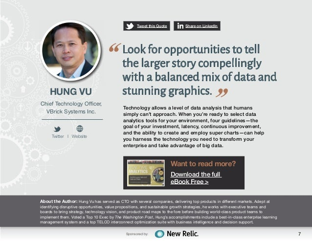 New Relic: Real-Time Analytics- Quotes from the Experts
