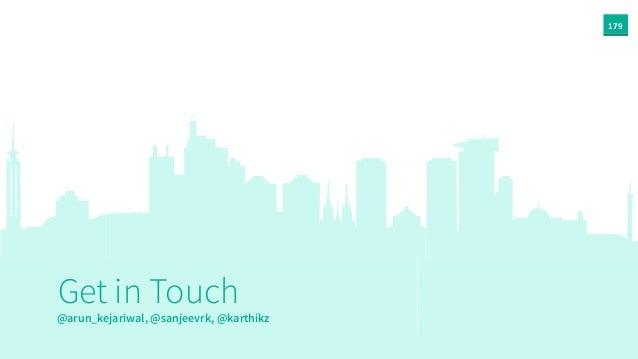 179 @arun_kejariwal, @sanjeevrk, @karthikz Get in Touch