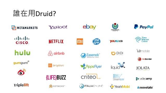 誰在用Druid?