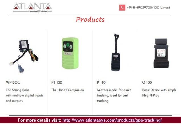 Real Time GPS Tracking Device Supplier In Delhi-ATLANTA SYSTEMS