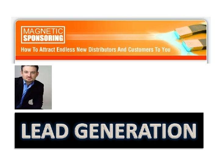 LEAD GENERATION<br />