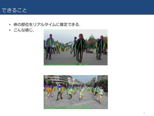 [DL輪読会] Realtime Multi-Person 2D Pose Estimation using Part Affinity Fields  Slide 3