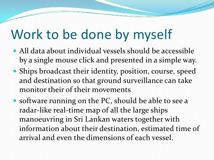 Real time ship tracking system using ais data Slide 3