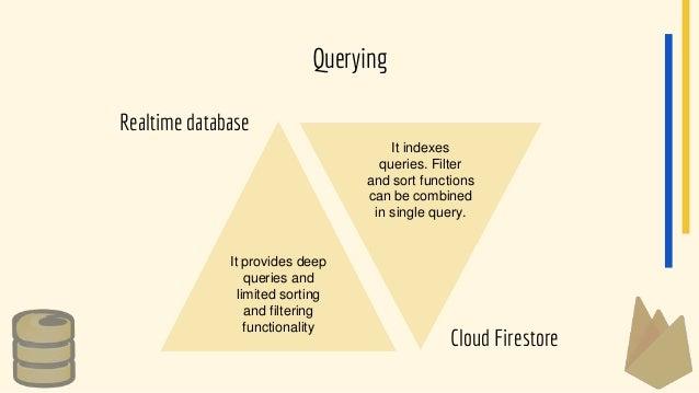 Realtime vs Cloud Firestore