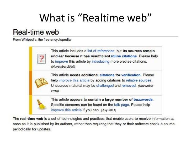 Realtime web2012 Slide 2