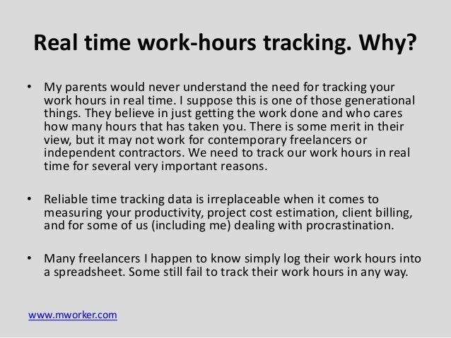 work hour tracker